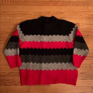 Marc by Marc Jacobs multi striped sweater
